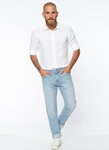 Mavi Jean Pantolon Renksiz